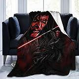 Manta de Darth Vader de moda de Star Wars, de gran tamaño, cálida, para...