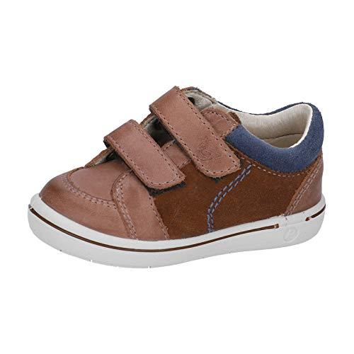 RICOSTA Kinder Sneaker Timmy von Pepino, Weite: Mittel (WMS),lose Einlage,Klettschuhe,Klettverschluss,Kids,Hazel/Kastanie (263),23 EU / 6 Child UK