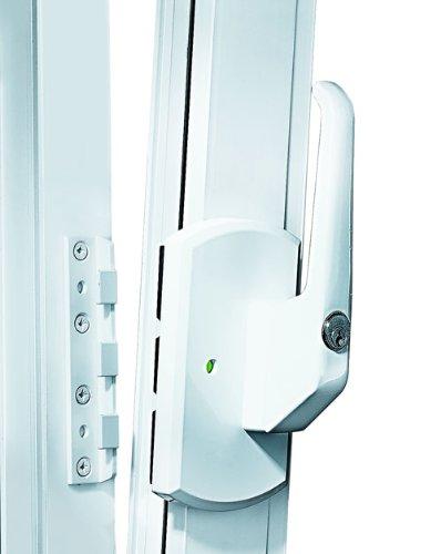 IKON Fenstersicherung Krallfix 4 - mit Fenstergriff-weiß