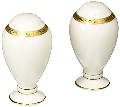 Noritake Rochelle Gold 3-1/4-inch Salt & Pepper Shakers
