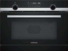 Siemens CP565AGS0 - Microondas (Integrado, Microondas combinado, 36 L, 1000 W, Giratorio, Tocar, Acero inoxidable)