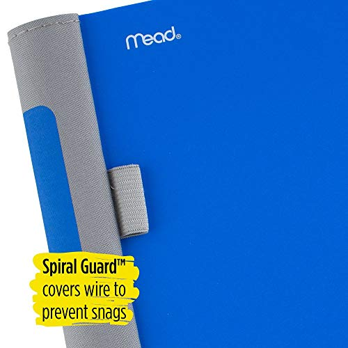 Five Star Advance Spiral Notebook, 5 Subject, College Ruled Paper, 200 Sheets, 11 Inches x 8-1/2 Inches, Blue (73150) Photo #3