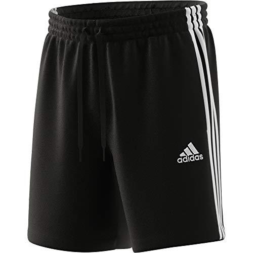 adidas Herren M 3s Ft Shorts, Schwarz/Weiß, M EU