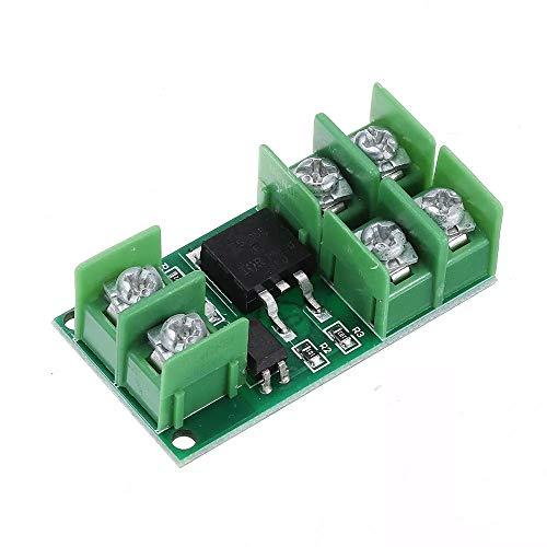 Conjuntos y componentes electrónicos DIY Interruptor de gatillo F5305S PMOS Módulo FET MOS Transistor de Efecto de Campo 3V 5V 12V 24V 36V for el bulbo de luz LED de motor de la bomba de Gaza
