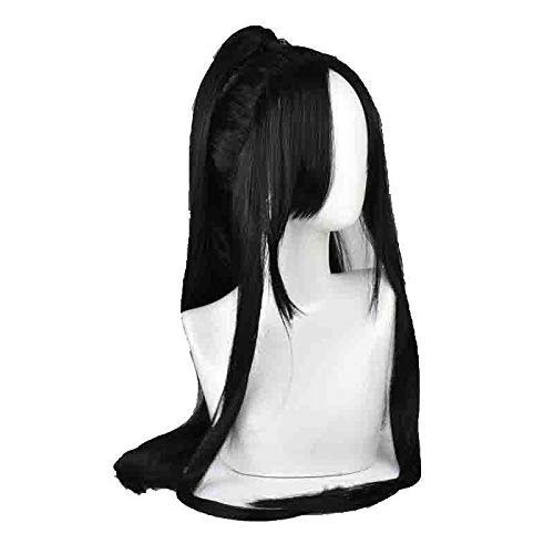 GJBXP Wei Wuxian Yiling Grandmaster Of Demonic Cultivation Patriarch Cosplay Wig Chinese Anime Magic Ancestors Cosplay Black Long Hai