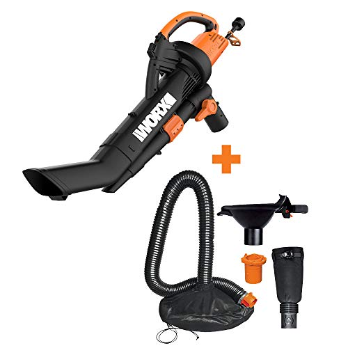 Buy Cheap WORX WG509 TRIVAC 12 Amp 3-in-1 Electric Blower/Mulcher/Vacuum with Multi-Stage All Metal ...