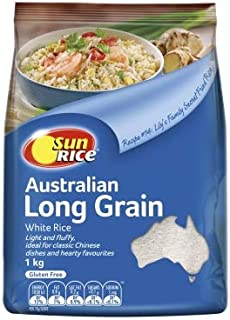 Sunrice Long Grain White Rice 1 kg,