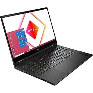 "HP OMEN 15 Gaming Laptop PC: AMD Ryzen 9 5900HX, NVIDIA GeForce RTX 3070 Graphics Card, 15.6"" QHD 165Hz Display, Windows 10 Home, 512GB NVMe SSD, 16GB DDR4 3200MHz RAM - OMEN 15z Performance Notebook"
