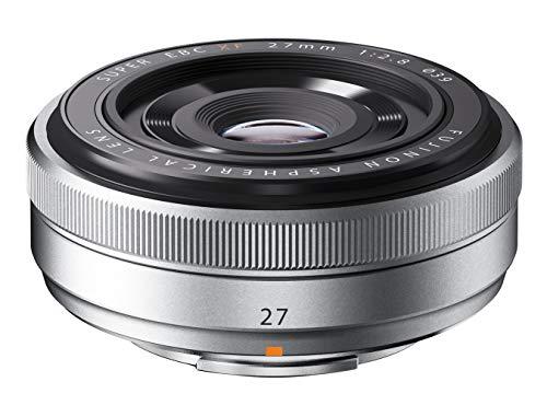 Fujifilm Fujinon XF lens, 27 mm, F2.8, zilver