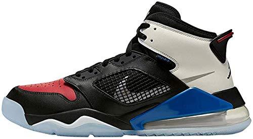 Nike Air Jordan Mars 270 Mens Basketball Trainers CD7070 Sneakers Shoes (UK 7 US 8 EU 41, Black Reflect Silver Gym red 001)