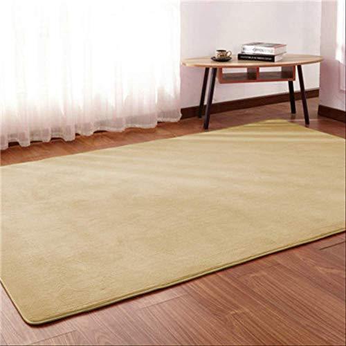 RSZHHL Vloerkleed voor kinderen, kruipkamer, slaapkamer, deken, sofakamer, eenvoudige salontafel, woonkamer, rechthoekig tapijt, Coral Carpet