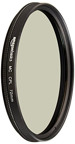 AmazonBasics Zirkularer Polarisationsfilter - 72mm
