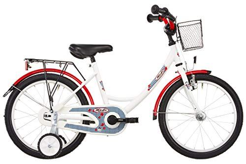 """Vermont Kinder-Fahrrad Karo weiß 18""""..."""