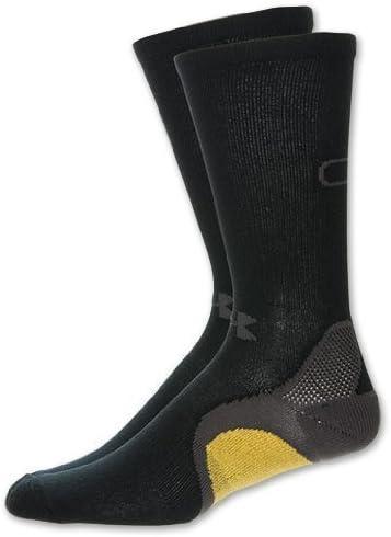 Under Armour Cam Newton C1N Swag Man Superman Socks, Large, Black/Grey