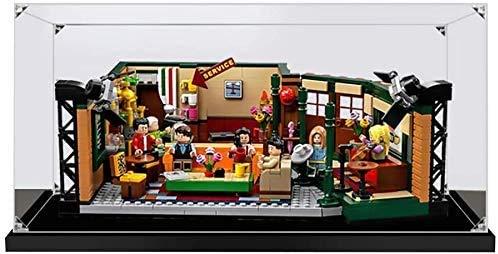 ZHLY Teca Acrilico Vetrina per Lego 21319, Casella di visualizzazione Compatibile per Lego 21319 Ideas Friends Central Perk Cafe (Non Incluso Modello)