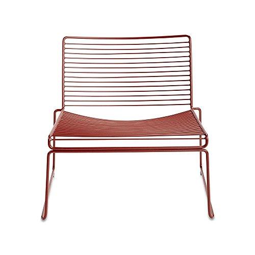 HEE Lounge Stuhl, rost pulverbeschichtet BxHxT 72x67x67cm für Innen- und Außenbereich geeignet