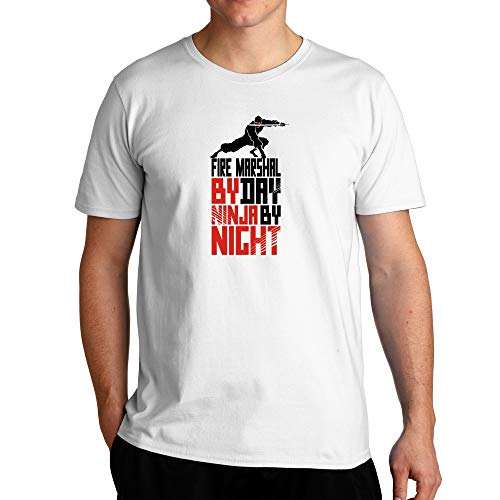 Eddany Fire Marshal by day ninja by night - Tシャツ