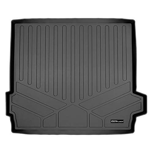 MAX LINER D0420 Custom Fit Black Cargo Liner Behind The 2nd Row for 2019-2021 BMW X5 (Only Fits 5 Passenger Models)
