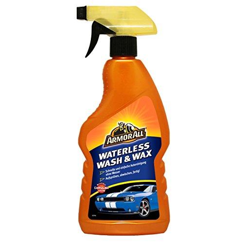 ARMOR ALL Waterless Wash & Wax GAA27500SB, Reinigung und Politur ganz ohne Wasser, 500ml