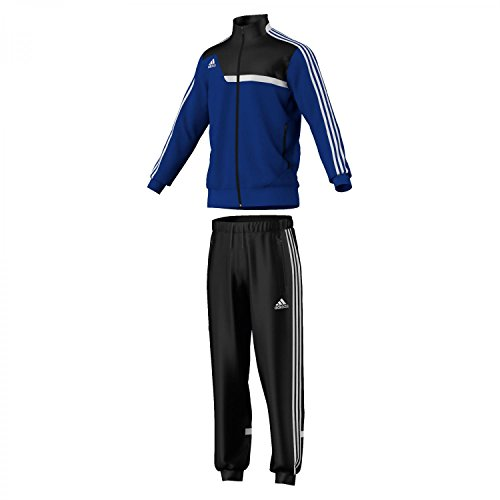 adidas Herren Trainingsanzug Tiro 13, Schwarz/Blau, S, Z20613