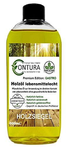 Arbeitsplattenöl Holzöl Lebensmittelecht Öl Naturöl Pflegeöl Holzschutz (500ml.)