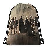 Zack-Snyder-S-Justice-League-Jared-Leto-Joker-Superman-Hd-Wallpaper-Preview Drawstring Bag Sports Fitness Bag Travel Bag Gift Bag