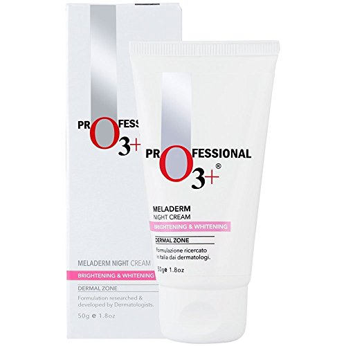 O3+ Dermal Zone Meladerm Intensive Skin Whitening Night Care Cream, 50ml