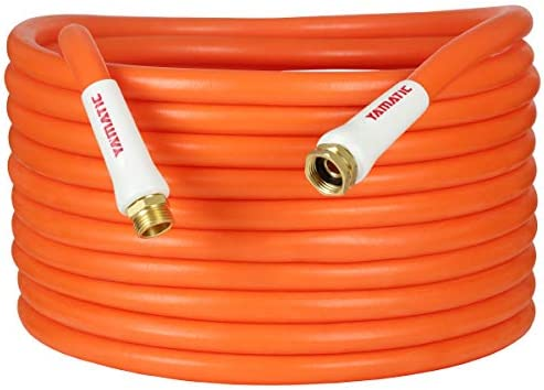 YAMATIC Ultra Flexible Heavy Duty Garden Hose 5 8 in x 30 ft Burst 600 PSI All Weather 3 4 GHT product image