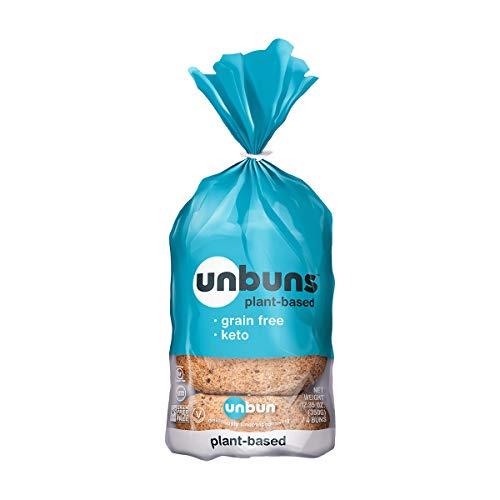 Unbun, Buns Keto 4 Count, 12.35 Ounce