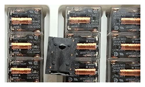zhenxin Relé 5pcs/Lot G6CU-1117P-FD-US 5VDC Relé de Estado sólido Dip/4
