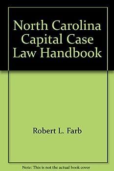 Paperback North Carolina capital case law handbook Book