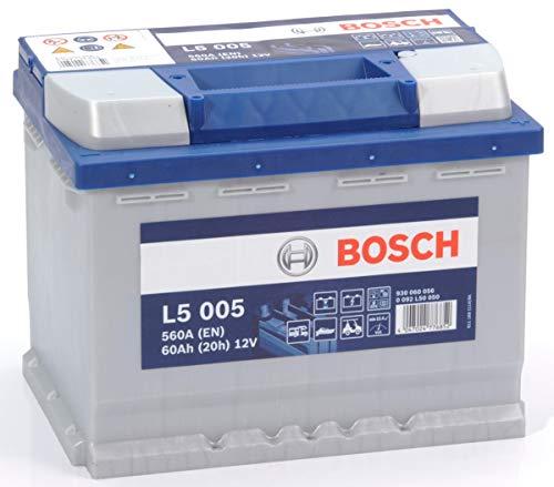Bosch L5005 Batterie à décharge profonde 12V, 60Ah, 560A