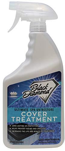 Black Diamond Stoneworks Ultimate Spa Hot Tub UV/Restore Cover Treatment, Protectant, Conditioner for Vinyl and Plastic.