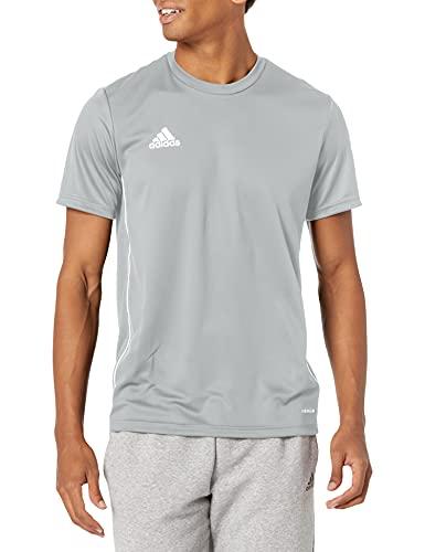 adidas Men's Core 18 Training Jersey, Stone/White, Large
