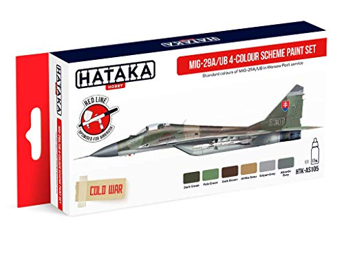 HTK-AS105 MiG-29A/UB 4-colour scheme paint set
