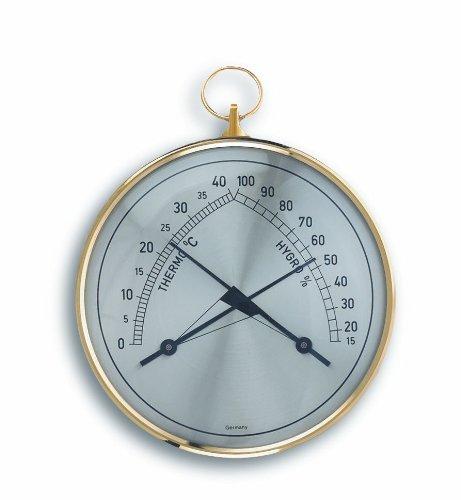 TFA Dostmann Analoges Thermo-Hygrometer, Kontrolle der Temperatur/Luftfeuchtigkeit, gesundes Raumklima