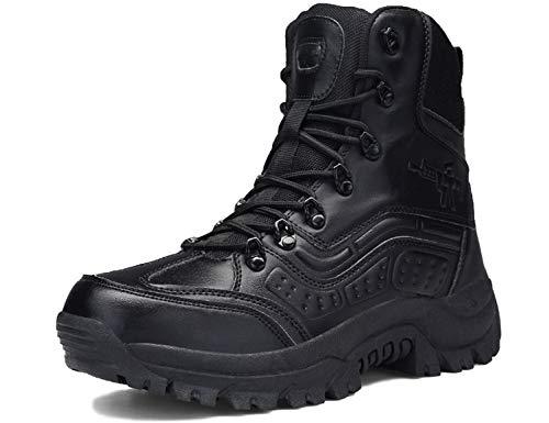 SINOES Moda Invierno Zapatos Antideslizante Impermeable Martin Boots Botines Botas de Nieve para Hombre