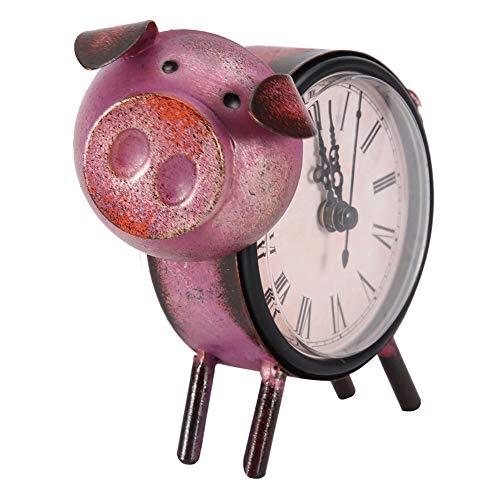 Wifehelper Reloj de Estilo Retro, Antiguo Reloj de Escritori