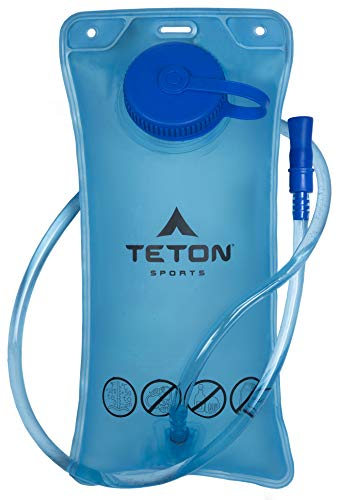 TETON Sports 2L Hydration Bladder; BPA Free Water Reservoir; Easy to Refill and Clean