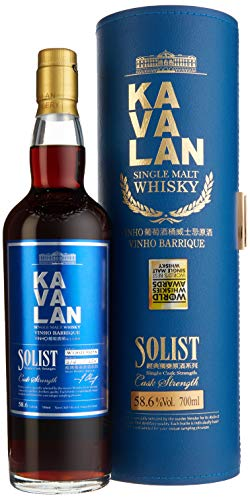 Kavalan Single Malt Solist Vinho - 0.70 l
