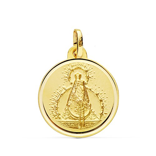 Medalla Virgen de la Cabeza 18 Ktes 18mm