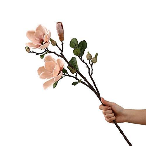 LSNLNN Künstliche Blume, Gefälschte Blume Magnolia Blume Simulation Blumenstrauß Dekoration Mit Obst Gefälschte Blume Floral Wohnzimmer Tisch Blumendekoration Dauerhaft