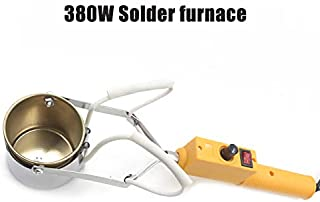160W-380W Electric Portable Lead Melting Pot Solder Furnace Casting Heads