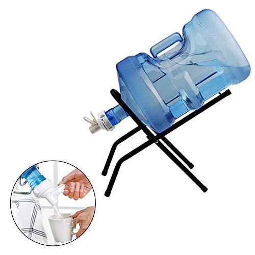 1 Satz Inverted Reines Trink Eimer Wasser-hahn-barreled Wasserhahn Wasserspender 3-5 Gallon Edelstahl Wasserkrug Kühler Folding Spender-Halter