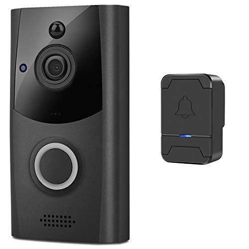 YQSHYP-Waterproof-Video-Doorbell-Smart-Wireless-WiFi-Security-Eye-Door-Bell-Visual-Recording-Remote-Home-Monitor-Video-Intercom-Phone-Call