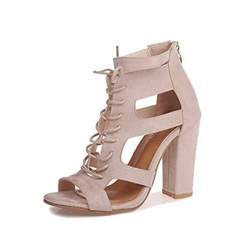 Damen Plateau Pumps High Heels Sandalen Schwarz Peep Toe Cross Strap Hochzeit Stilettos Für Damen