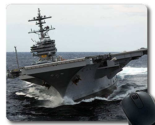 Yanteng Mouse Pads, portaaviones American Navy USS George H.W.Bush Warship Gaming Mouse Pads Multi YT1