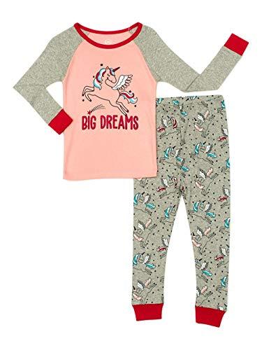 Toddler Girls' Unicorn Cotton Sleep Set, 2 Piece WonderNation  via @amazon