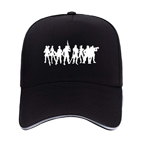 Battle Royale Game Unisex Baseball Cap Peaked Hat Adjustable Men's Novelty Baseball Caps Boys (Multicolor-HL02)