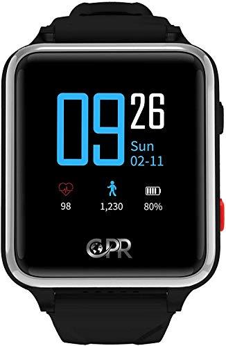 Reloj Inteligente CPR Guardian II para Padres y Seres Queridos, la próxima generación de protección en Caso de Emergencia. Mantener al Usuario Activo, Independiente y Seguro en Todo Momento